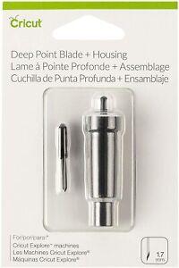 Genuine Cricut® Deep Point Cut Blade + Housing for Explore & Maker Machine 1.7mm