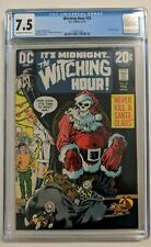 The Witching Hour 28 CGC 7.5 Christmas cover