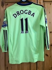 Adidas Chelsea football shirt jersey soccer for boys size 11/12 years #11 Drogba