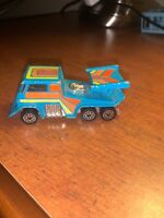 Vintage 1980 Kenner Fast 111's Die Cast Toy Semi Truck With Hawaii Plate
