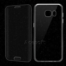 2in1 Premium Anti-Shatter Screen Protector Case for Samsung Galaxy S7