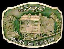 """Sperry Rail Detector """"Solid Bronze Belt Buckle""""  #056/300"""