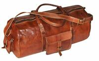Rich Quality Genuine Leather Duffel/Gym/Travel Luggage Handbag Shoulder bag