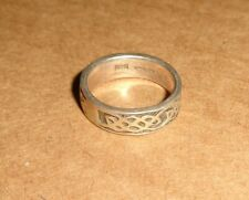Design Size 4 Thailand Toe? Ring Vintage Sterling Silver 925 Threaded Solid