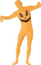 Pumpkin Second Skin Adult Costume Size Large