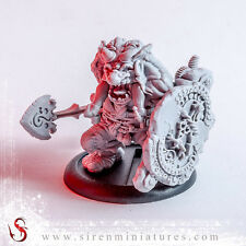 Marcus - Fantasy troll miniature in 32 mm scale for tabletop board games and RPG