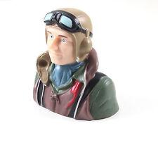 1:6 1/6 WW2 Pilot, L74xW44xL74mm RC Plane Airplane US TH031-00201