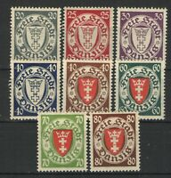 Germany - Danzig 1924-37 lot MH F - Nice lot various higher PF issues