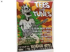 Tees And Tunes Tour Poster December 2019 40 X 30 Cm