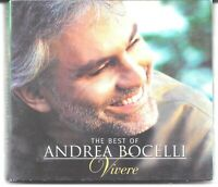Best of Andrea Bocelli Vivere CD & DVD Deluxe Edition Very Good / Ex
