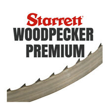 Lame de Scie à Ruban Starrett Woodpecker Premium 2850x19x0,7mm 3 hook bois