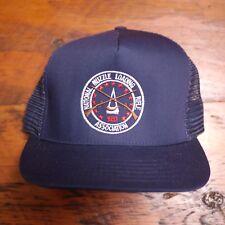Vtg National Muzzle Loading Rifle Association Embroidered Mesh Trucker Hat Cap