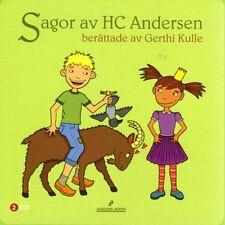 2 CD fiabe svedese H.C. Andersen, Svezia, Svenska