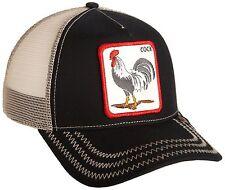 cb5b4d4bb82 Goorin Bros. Men s Rooster Baseball Black One Size 090625056049