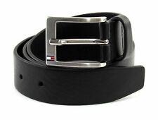 TOMMY HILFIGER New Aly Belt W110 Gürtel Accessoire Black Schwarz Neu