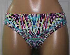 NEW Kenneth Cole RS6RB97 Hot To Trot Tribal Hipster Swim Bikini Bottom M Medium