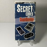 Playstation PSP, Nintendo DS, Gameboy Adv SECRET CODES FOR HANDHELDS 143-pg Book