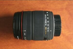 Sigma Zoom 18-200mm F3.5-6.3 DC Lens for Pentax K