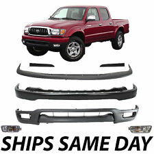 New Complete Steel Front Bumper Combo Kit W/ Turn Lights 2001-2004 Toyota Tacoma