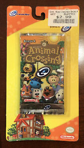 Animal Crossing E-Reader Series 4 Pack Nintendo NEW Collectible cards