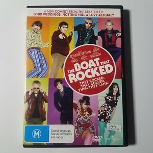 The Boat That Rocked | DVD Movie | Bill Nighy, Philip Seymour Hoffman | Comedy