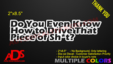Do You Even Jdm Car Sticker Decal Vinyl Window Bumper Funny Truck Euro Dope 308