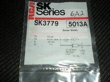 RCA SK6A2 SK3779 6.2Volt 1/2Watt ZENER DIODES REPL NTE5013A, ECG5013A 2/PKG sk