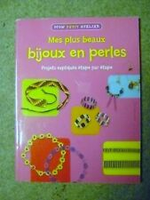 Livre Mes plus beaux bijoux en perles /AA15