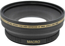 72mm Wide Angle Lens for Panasonic AG-DVX100B AG-DVC80 AG-HPX250 AG-AC160 HPX170