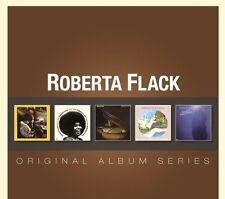 Roberta Flack ORIGINAL ALBUM SERIES Box Set FIRST TAKE Blue Lights NEW 5 CD