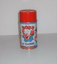Mint Unused C10 Bozo the Clown Thermos 1963 Aladdin