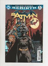 Batman #1 - DC Universe Rebirth Tie-In - (Grade 9.2) 2016