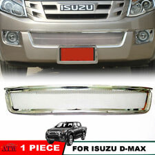 Equip 12-14 Isuzu D-Max Dmax Holden Rodeo Front Lower Grill Grille Cover Trim