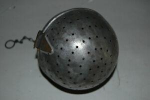 Large Vintage 5 Inch Tea Ball Infuser Metal Strainer