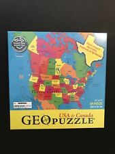 Geotoys New Geopuzzle Usa Canada Sealed Choice Award Dr. Toy