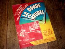 valse-berçeuse du film La Ronde des Heures piano chant 1931 P. Read