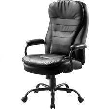 Big And Tall Office Chairheavy Duty Executive Computer Chairadjustable Desk C