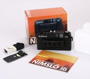 NIMSLO 3D, 30/5.6 QUADRA, BOXED, SHUTTER BUTTON ISSUE/216439