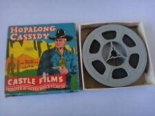 Hopalong Cassidy Castle Films 8mm Movie Reel in Box - Hoppy Sets a Trap #582