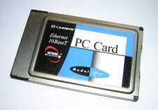 Linksys PCMCIA Ethernet 10BaseT LAN PC Card NP10T