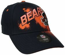 Chicago Bears NFL Youth Rusher Graphic Dark Navy Flex Fit Hat/Cap