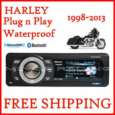 AQUATIC AV HARLEY STREET GLIDE RADIO REPLACEMENT With BLUETOOTH & SIRIUS XM