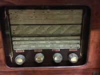 Antica radio a valvole  radio d'epoca