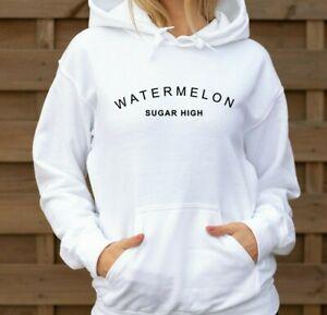 Watermelon Sugar High - slogan ladies hoodie Harry Styles fan music hoody jumper