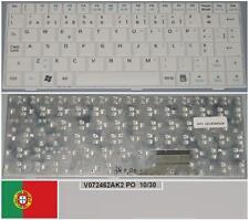Clavier Qwerty PO Portugais ASUS EeePc EPC 700 701 900 901 V072462AK2 Blanc,