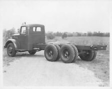 1940s Era Mack Cab and Chassis Press Photo 0100