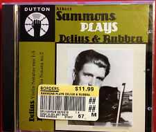 Albert Sammons Plays Delius & Rubbra Violin Sonatas remastered by Michael Dutton