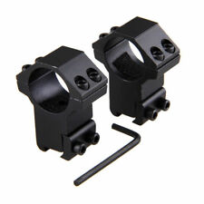 2pc 11mm dovetail rail mounts hunting Scope mount for Rifle scope ring 25.4mm BY
