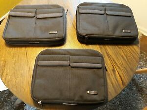 """Solo """"Check Fast"""" Nook / Tablet Travel Bags (3)"""