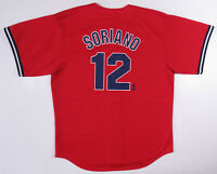 NWOT Vintage Alfonso Soriano New York Yankees Majestic MLB Baseball Red Jersey